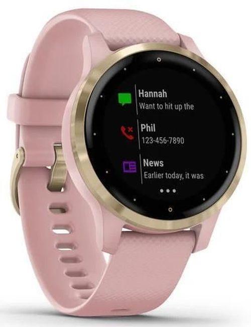 купить Смарт часы Garmin vivoactive 4S Dust Rose/Light Gold, S.EU в Кишинёве