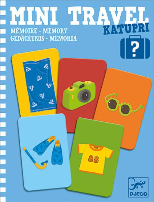 купить Katupri - Memory Mini Travel Game by Djeco в Кишинёве