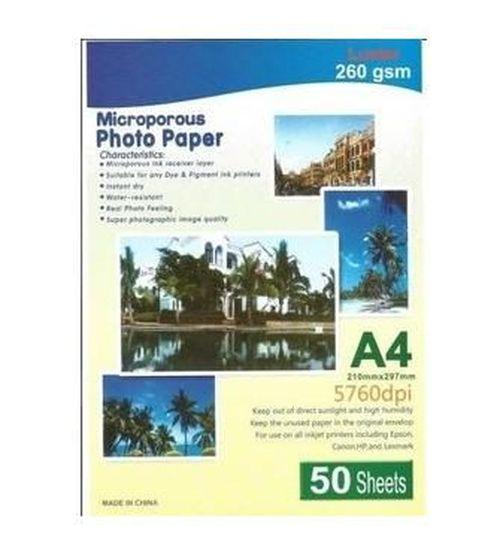 cumpără MicroporousPhoto Paper HANDSOME 250g/m2  /A4/  20 în Chișinău