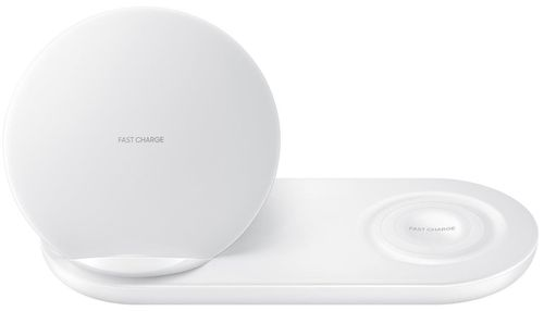cumpără Încărcător fără fir Samsung EP-N6100 Duo Wireless Charger Multi, White în Chișinău