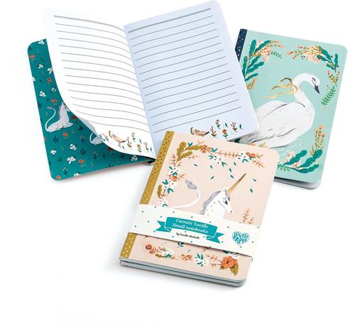 купить Djeco Lovely Paper 2 Small Notebooks в Кишинёве