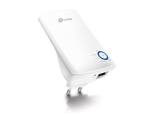 cumpără TP-LINK TL-WA850RE, 300Mbps Wireless N Wall Plugged Range Extender, Atheros, 2T2R, 2.4GHz, 802.11n/g/b, Ranger Extender button,  Range extender mode, with internal Antennas în Chișinău