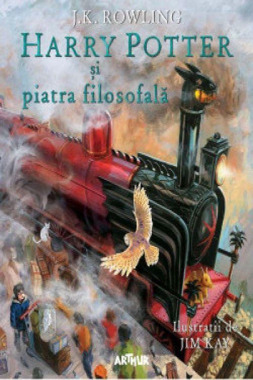 купить Harry Potter și Piatra Filosofală. Ediție ilustrată - J. K. Rowling в Кишинёве