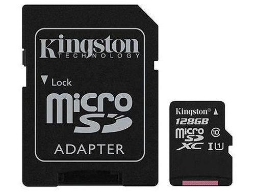 купить 128GB Kingston Canvas Select Plus SDCS2/128GB microSDHC, 100MB/s, (Class 10 UHS-I) + Adapter MicroSD->SD (card de memorie/карта памяти) в Кишинёве