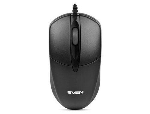 купить Mouse SVEN RX-112 black, PS/2 (mouse/мышь) в Кишинёве