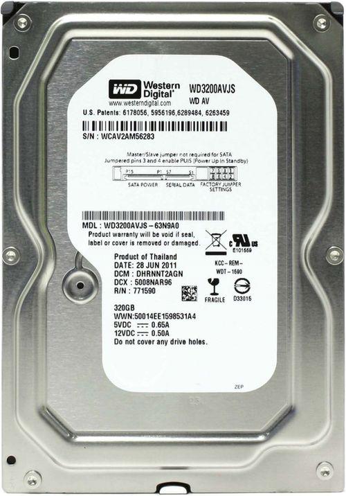 """cumpără .320Gb HDD 3.5"""" Western Digital WD3200AVJS Caviar® Blue™, 7200rpm, 8Mb, SATAII în Chișinău"""