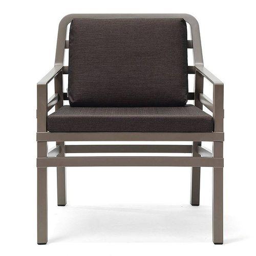 купить Кресло с подушками Nardi ARIA TORTORA caffe 40330.10.165.165 (Кресло с подушками для сада и терас) в Кишинёве