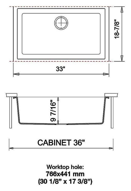 купить Мойка кухонная Plados ON8410ST ONE Ultrametal в Кишинёве