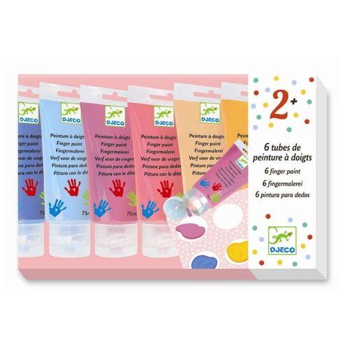 купить Пальчиковые краски пастельны DJECO в Кишинёве