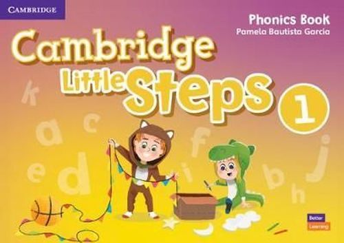 купить Cambridge Little Steps Level 1 Phonics Book в Кишинёве
