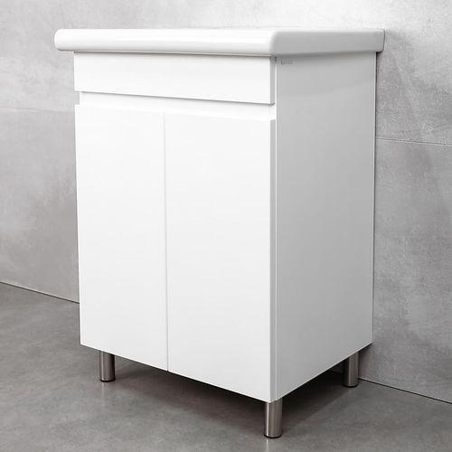 купить Kerry Шкаф белый с умывальником Natur 600 в Кишинёве
