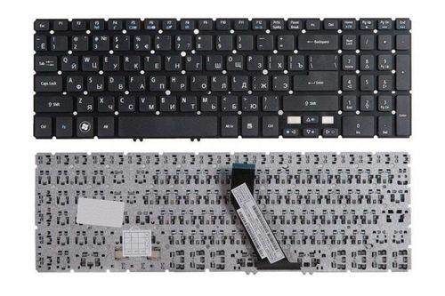 купить Keyboard Acer Aspire V5-571 V5-531 V5-551 M5-581 M3-581 w/o frame ENG/RU Black в Кишинёве