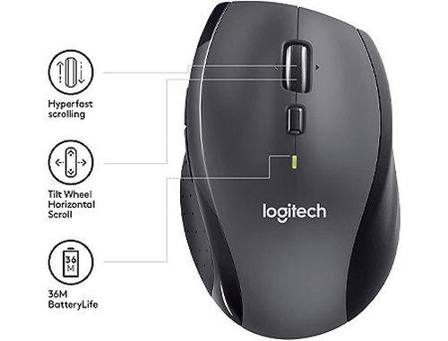 купить Logitech M705 Marathon Wireless Mouse, USB (mouse fara fir/беспроводная мышь) в Кишинёве
