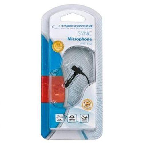 купить Esperanza EH131 Compact  mocrophone with clip в Кишинёве