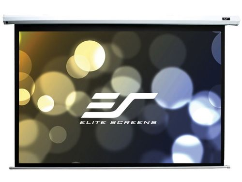 "купить Elite Screens 99""(1:1) 178x178cm VMAX2 Series Electric Screen with IR/Low Voltage 3-way wall box, TopDrop 7cm, White в Кишинёве"