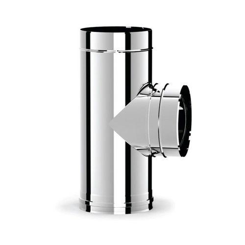 купить Ø180 Тройник дымоходный 90° (inox 316L) в Кишинёве