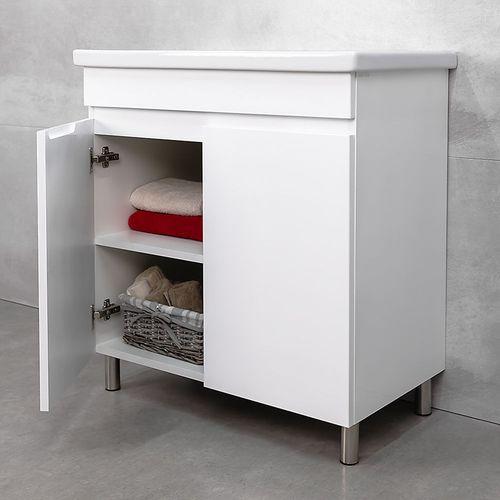 купить Kerry Шкаф белый с умывальником Komo  800 в Кишинёве