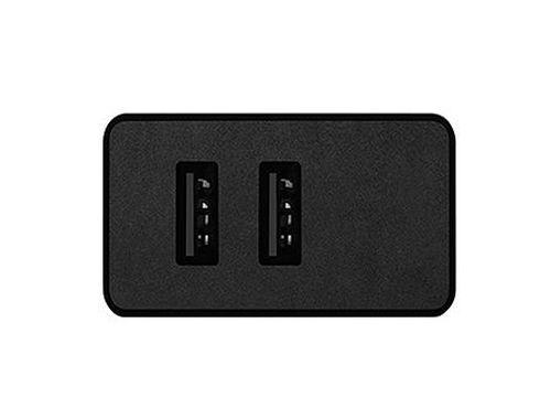 купить ACME CH205 Wall charger, Black, Input AC 100–240 V, 50/60 Hz, Output 2 x USB Type-A DC 5 V, 3.4 A (17 W) в Кишинёве