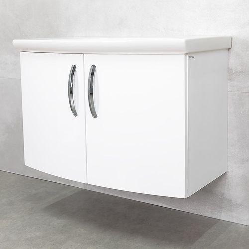 купить Tempo Шкаф белый с умывальником Java 900 в Кишинёве