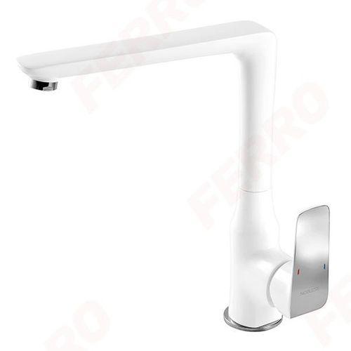 Смеситель для кухни Ferro Tina White 38714.1 (кухня)