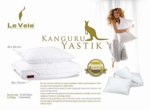 """cumpără Pernă Le Vele """"Kanguru"""" 2in1, Nanofiber, 50x70 cm + 40x50 cm în Chișinău"""