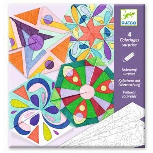 купить Раскраска-оригами Мандала, DJECO в Кишинёве