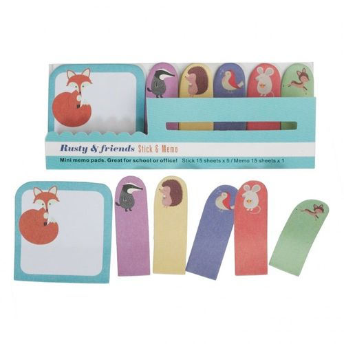 купить Rusty And Friends Mini Memo Pads в Кишинёве