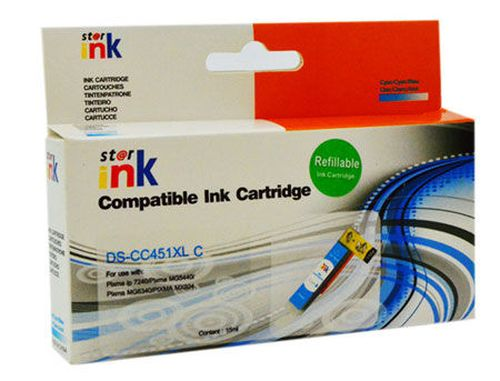 купить Impreso IMP-CLI451C Cyan XL Refillable Canon iP7240/MG5440/5540/6440/iX6840/MX924, w/chip (15ml) в Кишинёве