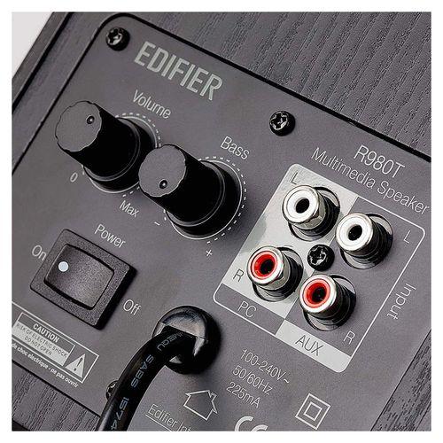 купить Колонки Active Speakers Edifier R980T(Studio) Black wooden, RMS 24W, 2x12W (boxe sistem acustic/колонки акустическая сиситема) в Кишинёве