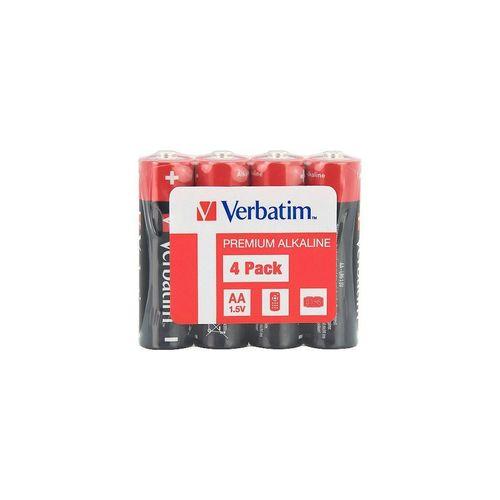 купить Verbatim AA Alkaline Battery 4 Pack Shrink 49501 в Кишинёве
