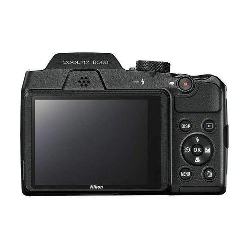 "купить NIKON Coolpix B500 Black, 16.0 MP 1/2.3"" BSI CMOS Sensor, NIKKOR f/3.0-6.5mm ED Lens, 22.5-900mm (35mm Equivalent), 40x Optical Zoom Lens, 80x Dynamic Zoom, 3"" 921k-Dot Tilting LCD, Full HD 1080p Video Recording at 30 fps, Bluetooth (BLE), Wi-Fi, VNA951E1 в Кишинёве"