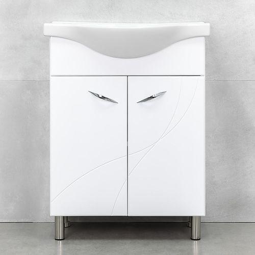 купить Шкаф Premium белый с умывальником Alba 650 в Кишинёве