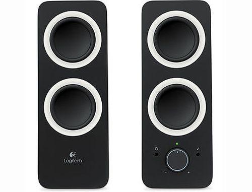 купить Logitech Z200 Stereo Speakers Midnight Black 2.0, ( RMS 5W, 2x2.5W satel.), 980-000810 (boxe sistem acustic/колонки акустическая сиситема) в Кишинёве