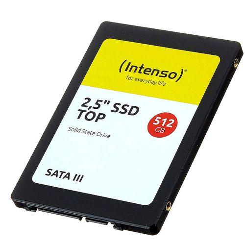 "купить 512GB SSD 2.5"" Intenso Top (3812450), 7mm, Read 520MB/s, Write 500MB/s, SATA III 6.0 Gbps (solid state drive intern SSD) в Кишинёве"