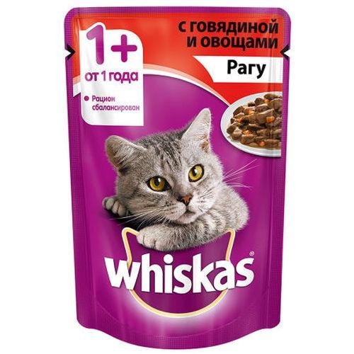 купить Whiskas рагу с говядиной и овощами в Кишинёве