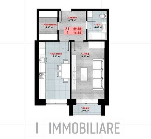 Apartamente cu 1 cameră, sect. Ciocana, str. Bucovinei.