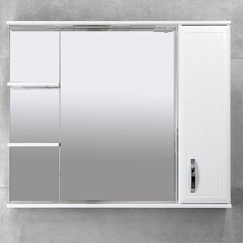 купить Allure Шкаф-зеркало белое 1000 R в Кишинёве