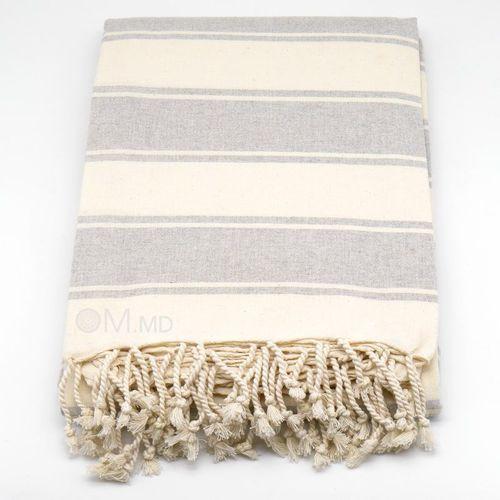 """cumpără Cuvertura """"Grey"""", 100% cotton, 225x260 cm în Chișinău"""