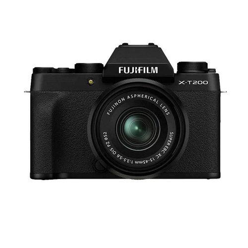 купить Fujifilm X-T200 Black XC15-45mm F3.5-5.6 OIS PZ Kit, Mirrorless Digital Camera Fujifilm X System (Aparat fotografic) в Кишинёве