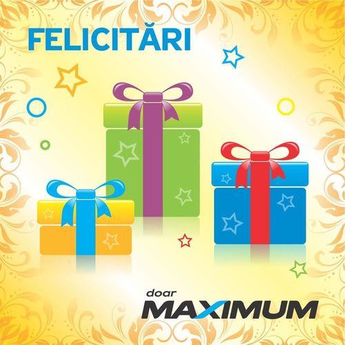 cumpără Certificat - cadou Maximum Конверт подарочный în Chișinău