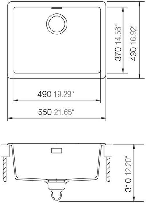 купить Мойка кухонная Schock Cristadur Soho N-100 в Кишинёве