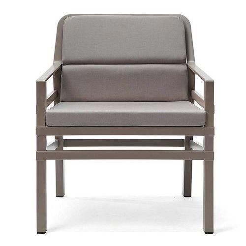 купить Кресло с подушками Nardi ARIA FIT TORTORA grigio 40330.10.163.FIT (Кресло с подушками для сада и терас) в Кишинёве