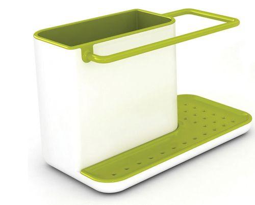 cumpără Accesoriu pentru bucătărie Joseph Joseph 85021 Сушилка для щетки и губки (Бело-зеленая) Caddy în Chișinău