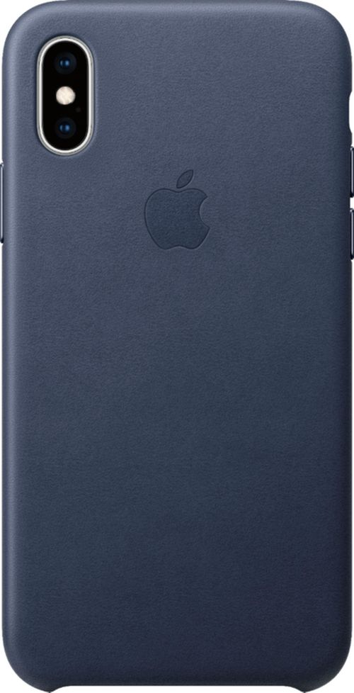 купить Чехол для смартфона i-Paint Leather Case - IPH X / XS, Blue в Кишинёве