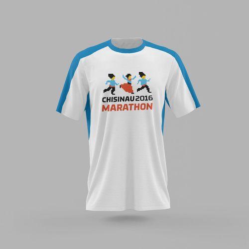 купить Футболка Chisinau Marathon 2016 в Кишинёве