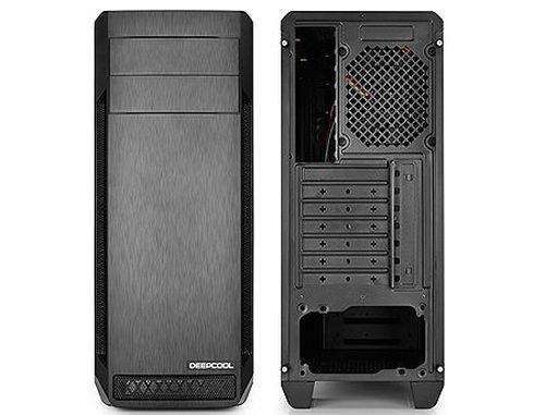 купить Case Middletower Deepcool D-SHIELD V2 ATX Black no PSU, 1xUSB3.0/2xUSB2.0/AudioHD x 1/Mic x 1, Rear: 1x120mm fan; Optional: Front: 3x120mm or 3x140mm, 2x120mm or 2x140mm, Top: 2x120/140mm (carcasa/корпус) в Кишинёве