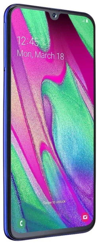 cumpără Smartphone Samsung A405/64 Galaxy A40 Blue în Chișinău
