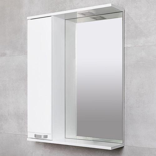 купить Rivera Шкаф-зеркало белый 650 L в Кишинёве