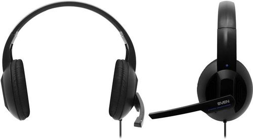 cumpără SVEN AP-680MV, Headphones with microphone, Volume control, SVEN PNC passive noise cancelling system, 2.5m, Black/Blue în Chișinău