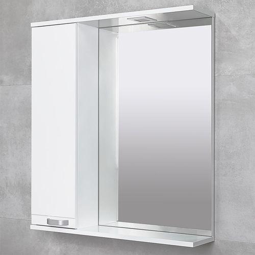 купить Rivera Шкаф-зеркало белый 750 L в Кишинёве